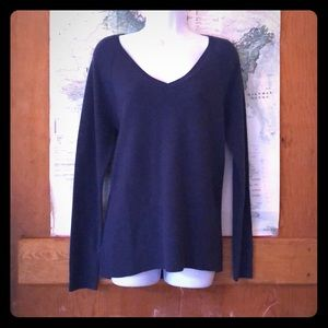 V neck relaxed sweater brand new with tags